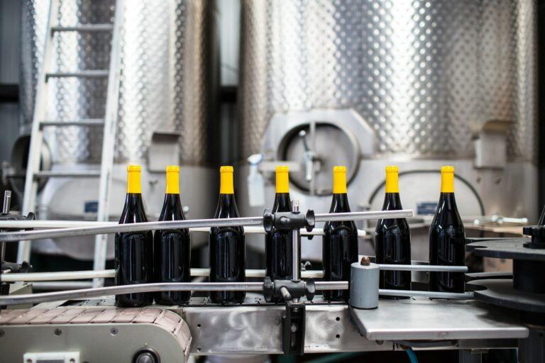 línea de producción bebida